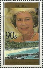 [The 70th Anniversary of the Birth of Queen Elizabeth II, Typ ABV]