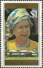 [The 70th Anniversary of the Birth of Queen Elizabeth II, Typ ABW]