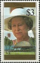 [The 70th Anniversary of the Birth of Queen Elizabeth II, Typ ABX]