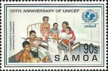 [The 50th Anniversary of UNICEF, Typ ACM]