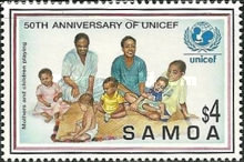 [The 50th Anniversary of UNICEF, Typ ACO]