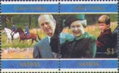 [The 50th Anniversary of Wedding of Queen Elizabeth II and Prince Philip, Typ ACX]