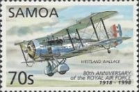[The 80th Anniversary of the Royal Air Force - Aircrafts, Typ ADU]