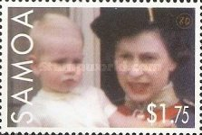 [The 80th Anniversary of the Birth of Queen Elizabeth II, Typ AJH]