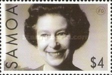 [The 80th Anniversary of the Birth of Queen Elizabeth II, Typ AJI]