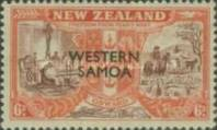 [Stamps of New Zealand Overprinted, type AK]