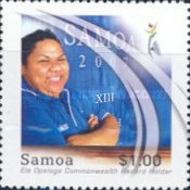 [The XIII South Pacific Games - Samoa, Typ AKG]