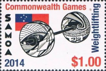[The 40th Anniversary of Samoan Participation in the Commonwealth Games, Typ APN]