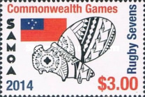 [The 40th Anniversary of Samoan Participation in the Commonwealth Games, Typ APP]