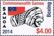 [The 40th Anniversary of Samoan Participation in the Commonwealth Games, Typ APQ]