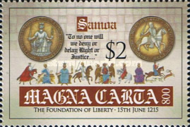 [The 800th Anniversary of the Magna Carta Documents, Typ AQU]