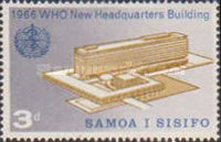 [Inauguration of W.H.O. Headquarters in Geneva, type BX]