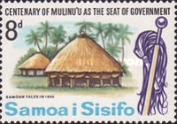 [The 100th Anniversary of Mulinu'u as Seat of Government, type CG]