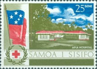 [The 20th Anniversary of Health Service in the South Pacific, Typ CT]