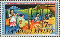 [The 21st Anniversary of the South Pacific Commission, Typ DC]