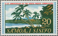 [The 21st Anniversary of the South Pacific Commission, Typ DD]