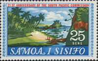 [The 21st Anniversary of the South Pacific Commission, Typ DE]