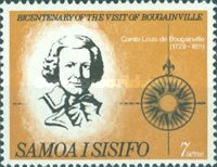 [The 200th Anniversary of Count Louis de Bougainville's Visit to Samoa, Typ DH]