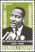 [Martin Luther King Commemoration, 1929-1968, Typ DL]
