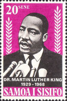 [Martin Luther King Commemoration, 1929-1968, Typ DM]