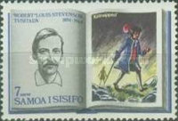 [The 75th Anniversary of the Death of Robert Louis Stevenson, 1850-1894, Typ DT]