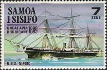 [Historical Events - Great Apia Hurricane of 1889, type EL]