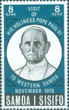 [Visit of Pope Paul VI to Samoa, type FA]