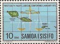 [The 1st South Pacific Judicial Conference, Typ FU]