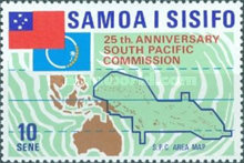 [The 25th Anniversary of South Pacific Commission, Typ FY]