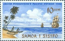 [The 250th Anniversary of Discovery of Samoa by Jacob Roggeveen, Typ GB]