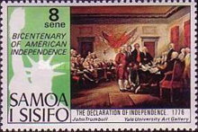 [The 200th Anniversary of American Revolution - Paintings, Typ IR]