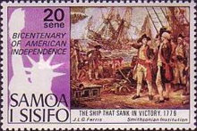 [The 200th Anniversary of American Revolution - Paintings, Typ IS]
