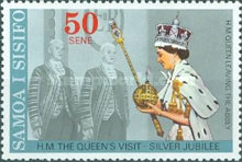 [The 25th Anniversary of the Regency of Queen Elizabeth II, Typ JL]