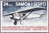[The 50th Anniversary of First Translantic Flight by Charles Lindbergh, Typ JN]
