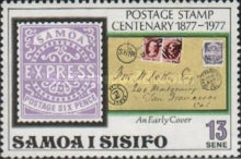 [The 100th Anniversary of Samoan Stamps, Typ JV]