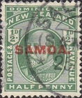 [New Zealand Postage Stamps Overprinted, type K]