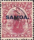 [New Zealand Postage Stamps Overprinted, type K1]