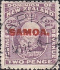[New Zealand Postage Stamps Overprinted, type K2]