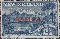 [New Zealand Postage Stamps Overprinted, type K3]