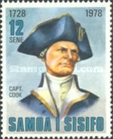 [The 250th Anniversary of the Birth of Captain James Cook, 1728-1779, Typ KM]