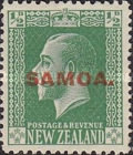 [New Zealand Postage Stamps Overprinted, type L]