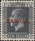[New Zealand Postage Stamps Overprinted, type L1]