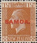 [New Zealand Postage Stamps Overprinted, type L2]