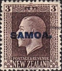 [New Zealand Postage Stamps Overprinted, type L5]