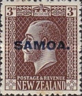 [New Zealand Postage Stamps Overprinted, type L6]