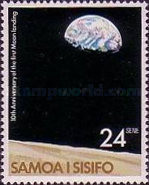 [The 10th Anniversary of Moon Landing by Apollo 11, Typ LT]