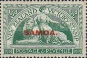 [New Zealand Postage Stamps Overprinted, Typ M]