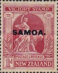 [New Zealand Postage Stamps Overprinted, Typ M1]