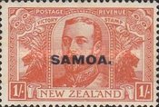 [New Zealand Postage Stamps Overprinted, Typ M5]