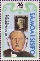 [The 100th Anniversary of the Death of Rowland Hill, 1795-1879, Typ MB]